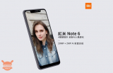 Xiaomi Redmi Note 6 datang ke China pada 6 November