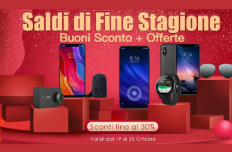 Offerta – Saldi di fine stagione da HonorBuy.it