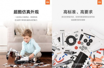The new Xiaomi toy is a Lego-style digger