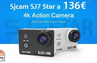 Discount Code - SJCAM SJ7 STAR WiFi Action Camera 4K BLACK for only 136 € from EU Stock