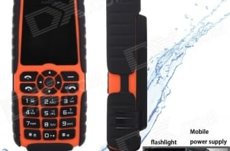 Extra 10% OFF XiaoCai X6 Waterproof GSM Phone @ $26.38 from DealExtreme
