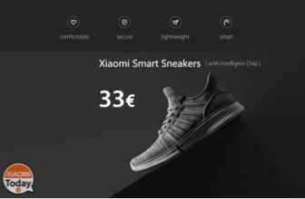 Offer - Xiaomi Sneakers Blue / Black / Gray with Smart Chip to 33 € Shipping Italy Express Included