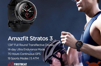 Discount Code - Xiaomi Amazfit Stratos 3 Global at 171 €