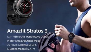 할인 코드-Xiaomi Amazfit Stratos 3 Global at 150 €