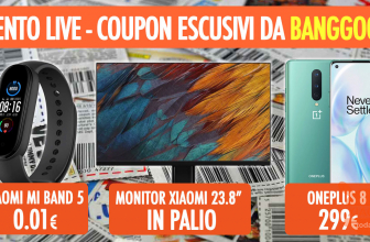 LIVE Stream show today at 16:00 - exclusive COUPON with prices below cost!