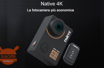 Offerta – ThiEYE T5e WiFi 4K 30fps Sport Camera 14MP Black a 88€ Garanzia 2 Anni Europa