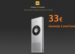 Offer - Xiaomi MY001CN Konjac AI Translator Translator to 33 € 2 years European warranty and Priority Line 1 shipping €