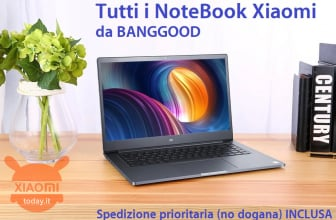 Discount Code - All Xiaomi Notebooks on offer from Banggood with priority shipping (no customs) INCLUDED - UPDATED