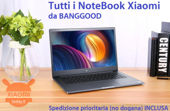 Discount Code - All Xiaomi Notebooks on offer from Banggood with priority shipping (no customs) INCLUDED