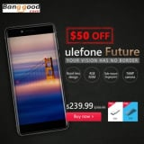 $ 50 OFF Ulefone Future from Hong Kong BangGood network Ltd.