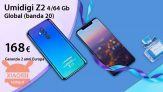 Offer - Umidigi Z2 4 / 64Gb Global Aurora (20 band) to 168 € and 6 / 128Gb CERAMIC PRO to 275 € 2 guarantee years Europe