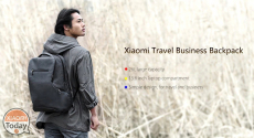 Offer - Xiaomi 26L Travel Business Backpack water resistent at 68 €