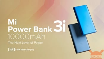 Xiaomi India lancia le nuove Mi Power Bank 3i da 10000 e 20000 mAh