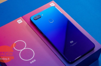 "Xiaomi unveils the ""magic"" of the gradient back cover of Mi 8 Lite"