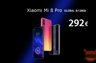割引コード-Mi8 Pro Global Transparent Titanium 8 / 128Gb at 292€