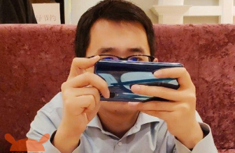 New (real) photograph of the Xiaomi Mi 9: and the 5 cameras?