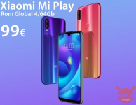 Rabattcode - Xiaomi Mi Play Rom Global 4 / 64Gb Schwarz zu 99 €