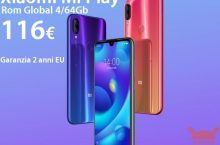 Offer - Xiaomi Mi Play Rom Global 4 / 64Gb at 116 € warranty 2 years Europe and priority shipping Included