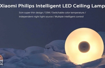 Offer - Xiaomi Philips LED Ceiling Lamp White at 101 € and Mijia PHILIPS Zhirui at 67 € Warranty 2 Years Europe