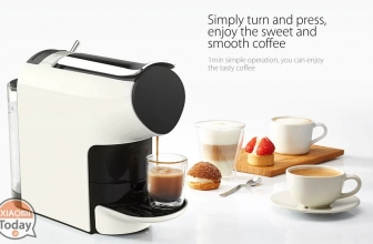 Offer - Xiaomi Mini SCISHARE Espresso Coffee Machine Capsules at 67 € FREE shipping from EU warehouse
