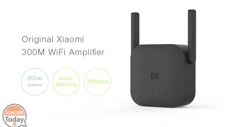 Discount Code - Xiaomi Pro 300M 2.4G WiFi Amplifier Black at 13 €