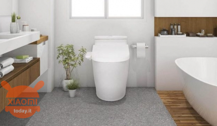 Thanks to Xiaomi you will enjoy artificial intelligence comfortably seated on the toilet