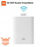 Offerta – Xiaomi ZMI MF855 Router 4G Portatile Wireless/Power bank 7800mAh a 47€
