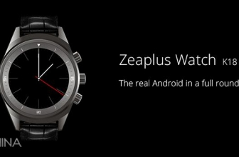 Zeaplus Watch K18: specificaties en live foto's!