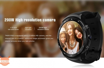 Offer - ZeXZ Pro THOR 3G Smartwatch Phone 1 / 16 Gb to 67 € 2 warranty years Europe